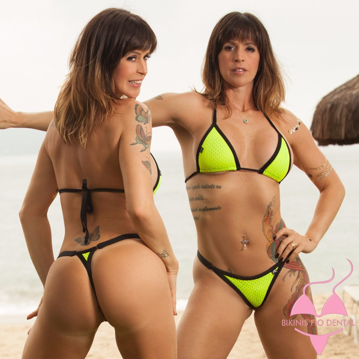 Mulheres Eiras Em Micro Bikini Silves-89355